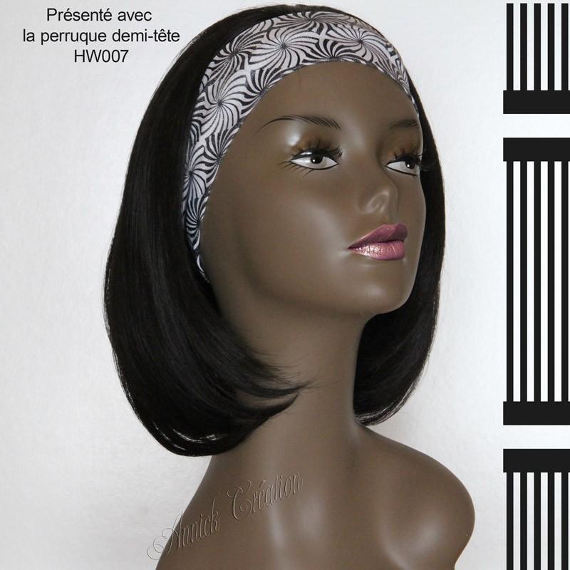 Bandeau pour vos perruques demi-tête